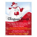 Weihnachtssnowmen-Nutzen für KinderFlyer Flyer