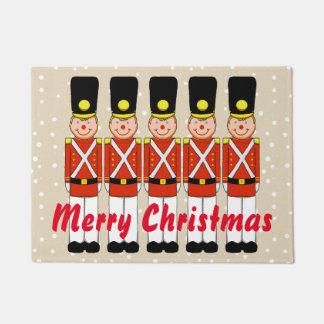 Weihnachtssoldat-Weihnachtstür-Matte Türmatte