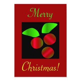 Weihnachtsstechpalme II Individuelle Ankündigung