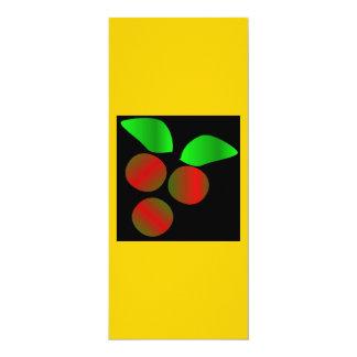 Weihnachtsstechpalme IV 10,2 X 23,5 Cm Einladungskarte