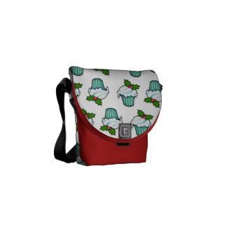 Weihnachtsstechpalmen-Kuchen-Minibote-Tasche Kuriertasche
