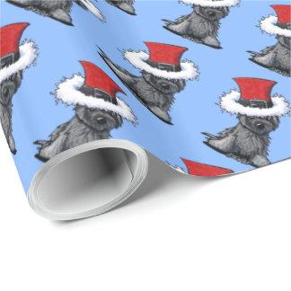 WeihnachtsSteinhaufen Geschenkpapier