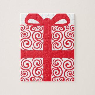 Weihnachtsstrudel-Geschenk Puzzle