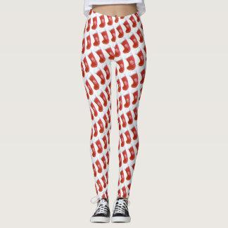 WeihnachtsStrumpf-Feiertags-Mode-Art Leggings