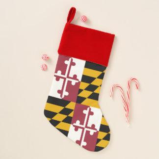 WeihnachtsStrumpf-Flagge von Maryland, USA Weihnachtsstrumpf