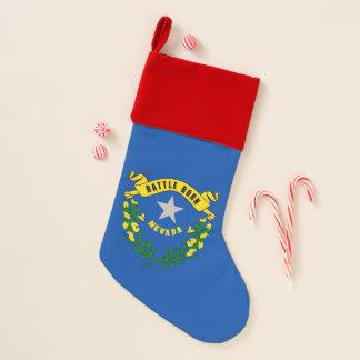 WeihnachtsStrumpf-Flagge von Nevada, USA Weihnachtsstrumpf