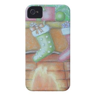 WeihnachtsStrumpf iPhone 4 Case-Mate Hülle