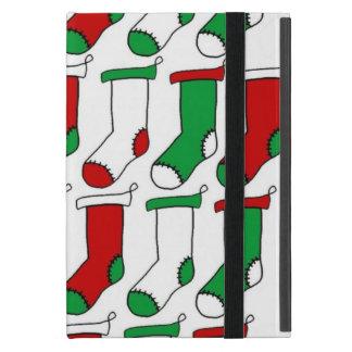 WeihnachtsStrumpf-Socken iPad Mini Etuis
