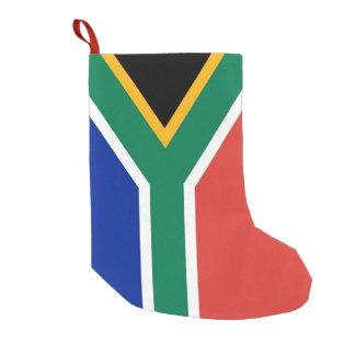 WeihnachtsStrümpfe mit Flagge von Südafrika