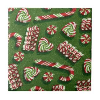 Weihnachtssüßigkeiten Fliese