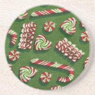 Weihnachtssüßigkeiten Untersetzer