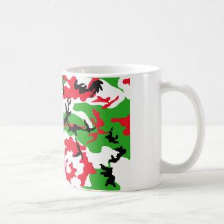 Weihnachtstarnung Kaffeetasse