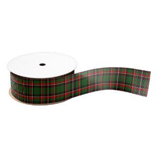 WeihnachtsTartan Ripsband