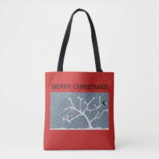 WeihnachtsTaschentasche mit eisigem Entwurf Tasche