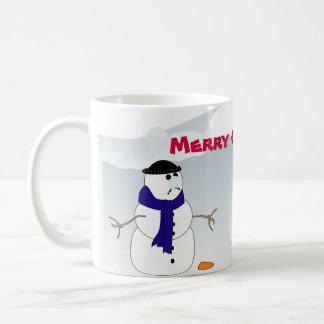 WeihnachtsTasse mit Snowmen Kaffeetasse