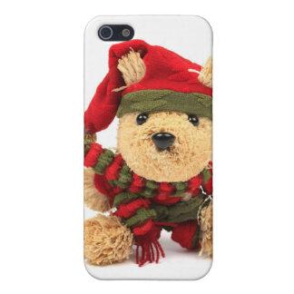 WeihnachtsTeddybär iPhone 5 Schutzhülle