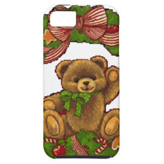 WeihnachtsTeddybär-Kranz Hülle Fürs iPhone 5