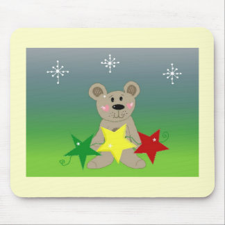 WeihnachtsTeddybär Mousepad