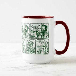 Weihnachtstraumfeiertags-Tasse 11-15oz Mehrfarben Tasse