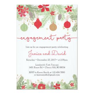 WeihnachtsVerlobungs-Party Einladungen