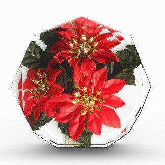 Weihnachtsverziert fröhlicher Feiertags-Baum Feier Acryl Auszeichnung