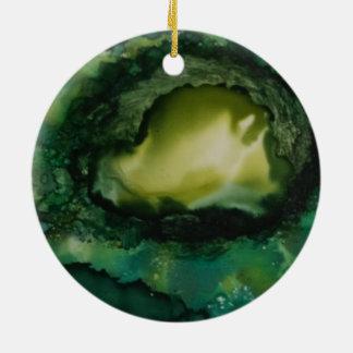 Weihnachtsverzierung, Kreis Keramik Ornament