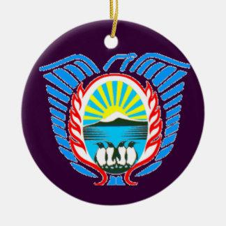 Weihnachtsverzierung Malvinas Argentinien Keramik Ornament