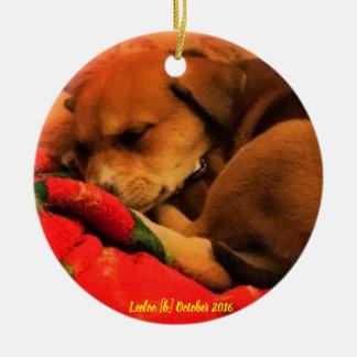 Weihnachtsverzierung SchlafensLeeloo Keramik Ornament
