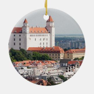 Weihnachtsverzierung Slowakei Bratislava Keramik Ornament