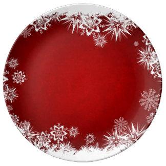 Weihnachtsverzierung Teller Aus Porzellan
