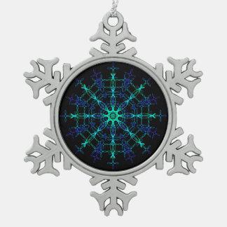 Weihnachtsverzierungen Schneeflocken Zinn-Ornament
