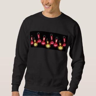 Weihnachtsverzierungs-Sweatshirt Sweatshirt