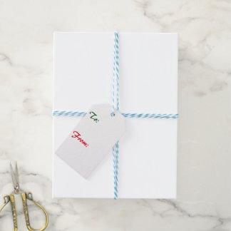 Weihnachtsviolinen-Geschenk-Umbauten Geschenkanhänger