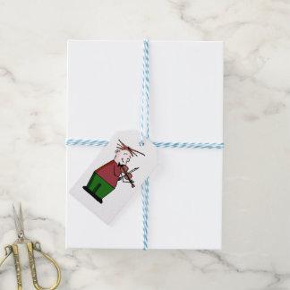 Weihnachtsviolinen-Typ-Geschenk-Umbauten Geschenkanhänger