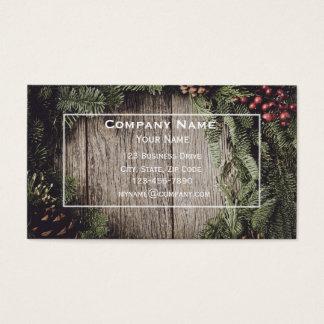 WeihnachtsVisitenkarte Visitenkarte