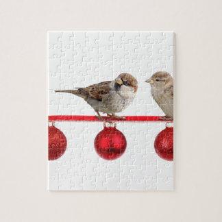 Weihnachtsvogelspatzen Puzzle