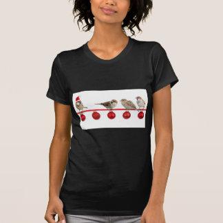 Weihnachtsvogelspatzen T-Shirt