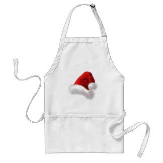 WeihnachtsWeihnachtsmannmütze-Kunst Schürze