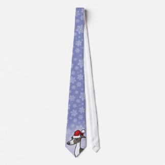 Weihnachtswindhund/Whippet/italienischer Windhund Krawatte