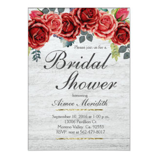 Weihnachtswinter-Brautparty-Einladung 12,7 X 17,8 Cm Einladungskarte