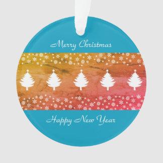 Weihnachtswinter-Waldelegantes schickes schönes Ornament