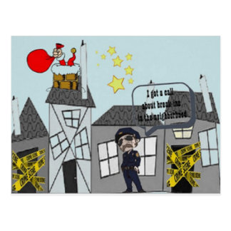 Weihnachtswitz Postkarte