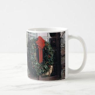 Weihnachtswreath-Tasse Kaffeetasse
