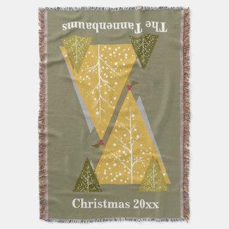WeihnachtsWurf, Weihnachtsbäume Decke