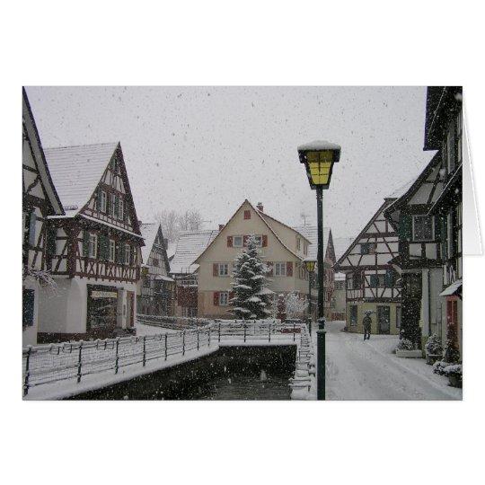 Weihnachtszeit im Schwarzwald Karte