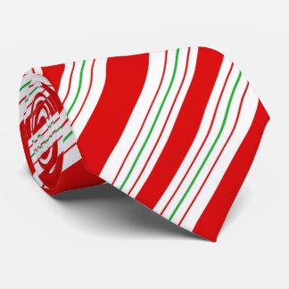Weihnachtszuckerstange Stripes ID259 Krawatte