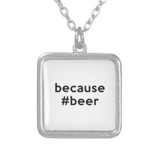 Weil Bier Versilberte Kette