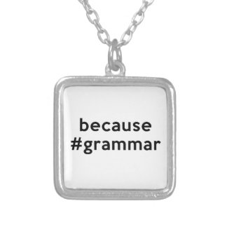 Weil Grammatik Versilberte Kette