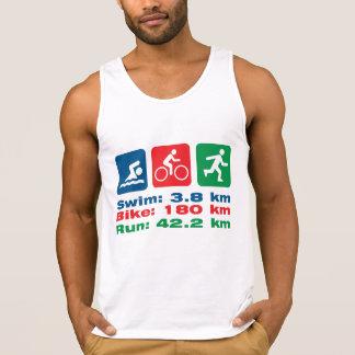 Weil ich Triathlete Schwimmen-Fahrrad kann, lassen Tank Top