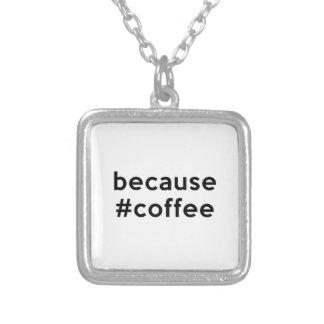 Weil Kaffee Versilberte Kette